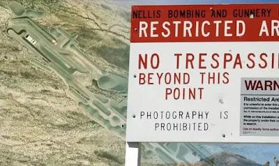 Area 51: Le prove di una nuova base UFO sotterranea sono state scoperte al di fuori dell'Area 51?
