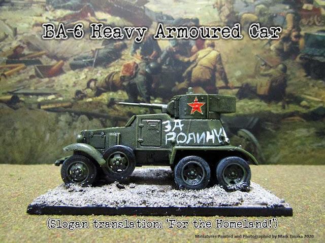 Pegasus Hobbies 1/72 Soviet BA-6 Heavy Armoured Car