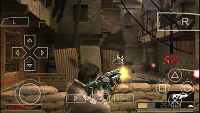 تحميل لعبة Resistance: Retribution لأجهزة psp ومحاكي ppsspp