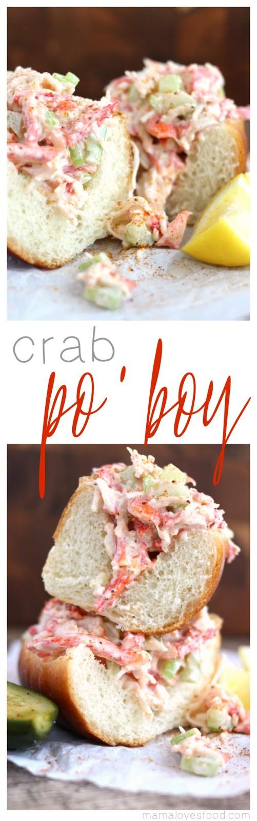 Crab Po'boy Recipe