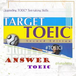 หนังสือเฉลยเตรียมสอบโทอิค TOEIC Answer