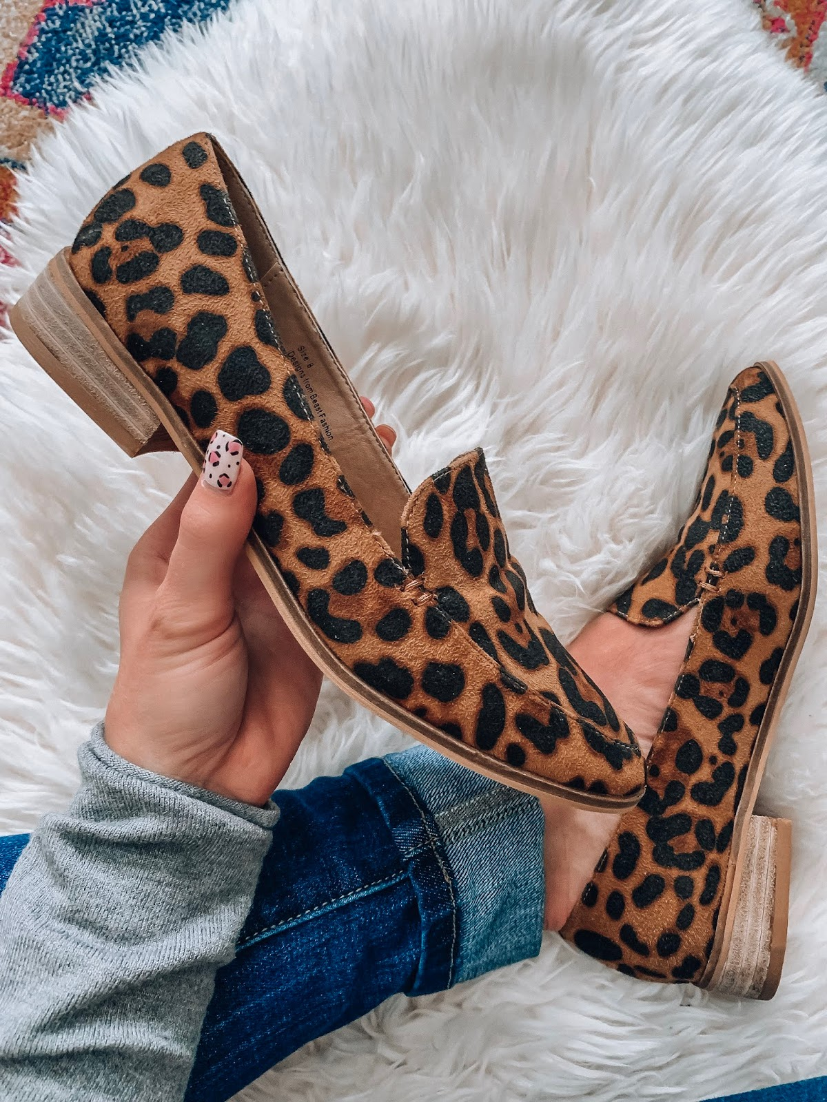 $38 Leopard Loafers // Something Delightful Blog