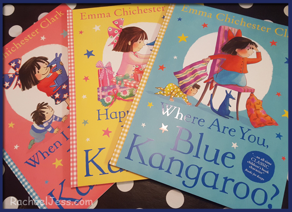 - Where Are You, Blue Kangaroo? This was our favourite, this was read twice in a row, this was the story that engaged my son the most as this had him looking for the Blue Kangaroo on each of the pages.  This was a lovely introduction of how to look after your belongings and to never leave them behind - something we ourselves are still learning.