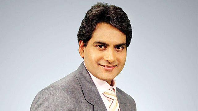 Zee news Sudhir Chaudhary