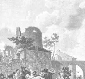 La Rixe (The Brawl); Charles-Melchior Descourtis