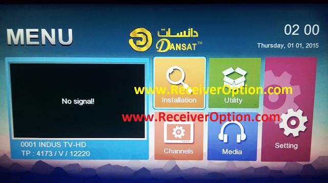 DANSAT DSR 93 HD RECEIVER ORIGINAL DUMP FILE