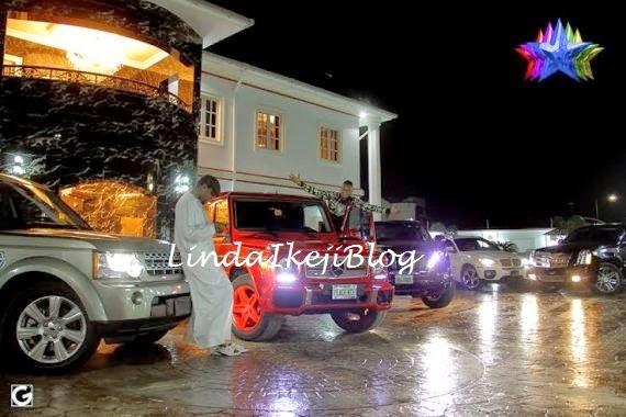 kceegwagonbirthday+present+lindaikejiblog1 Kcee Gets 2013 Benz G Wagon From Brother As Birthday Gift [See Photos]