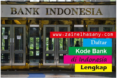 kode bank indonesia