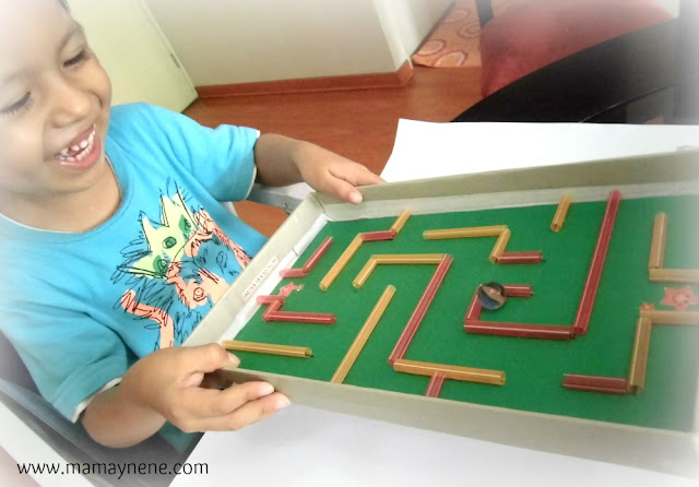 LABERINTO-MANUALIDADES-NIÑOS-PREESCOLAR-CRAFT-KIDS
