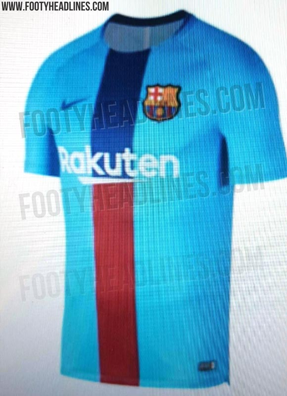brand new 50511 ee4fc EXCLUSIVE: Barcelona 2019 Pre-Match Shirt Leaked | Futbolgrid