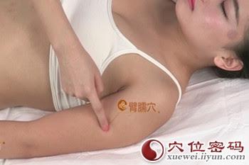 臂臑穴位 | 臂臑穴痛位置 - 穴道按摩經絡圖解 | Source:xueweitu.iiyun.com