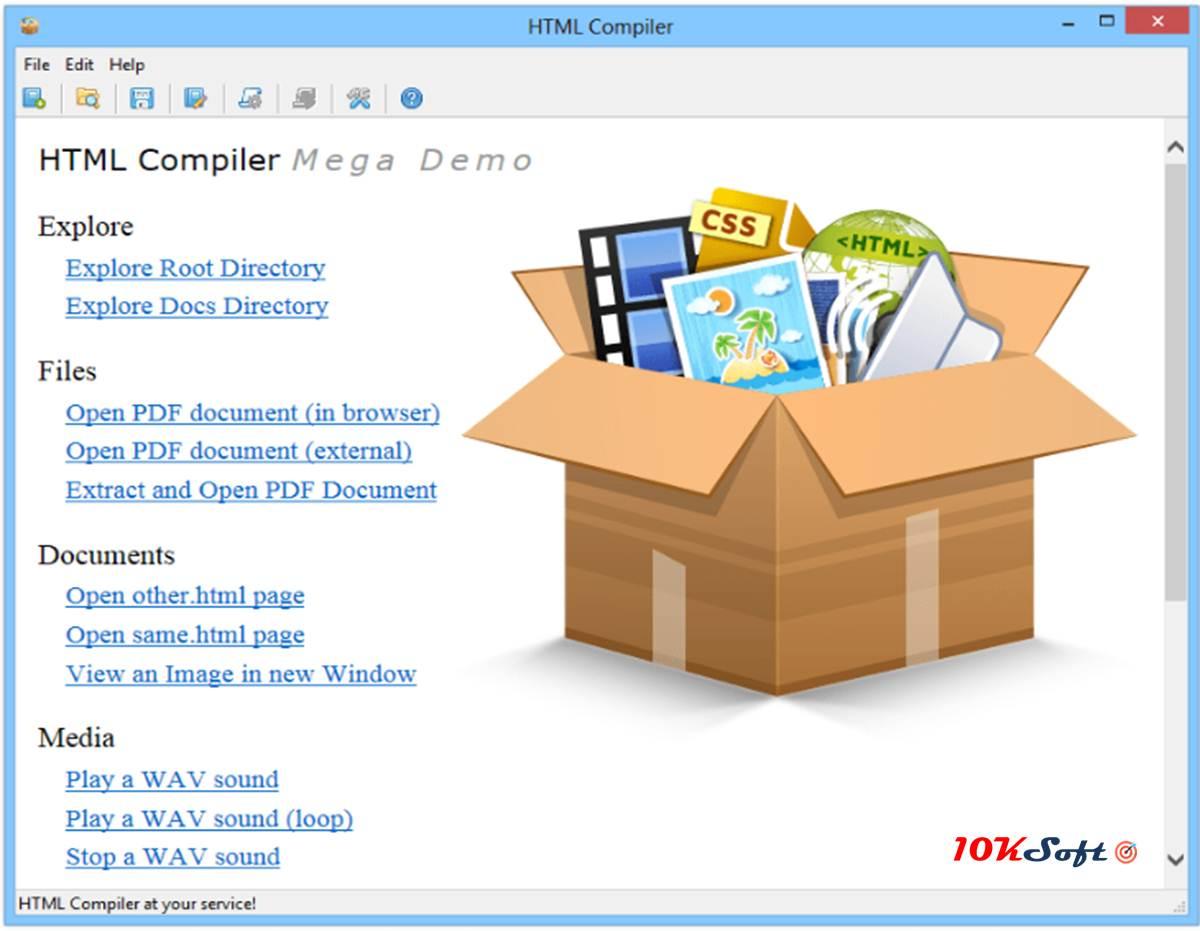 HTML Compiler Offline Installer Setup Free Download