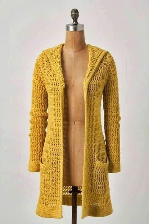 wzór swetra szydelkiem