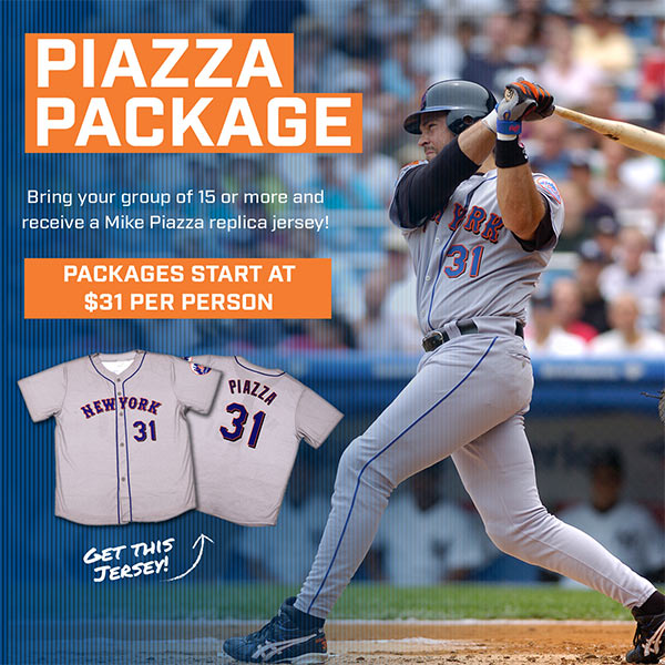 more photos 0e3f8 a83dc TheMediagoon.com: METS $31 MIKE PIAZZA TICKET PACKAGE