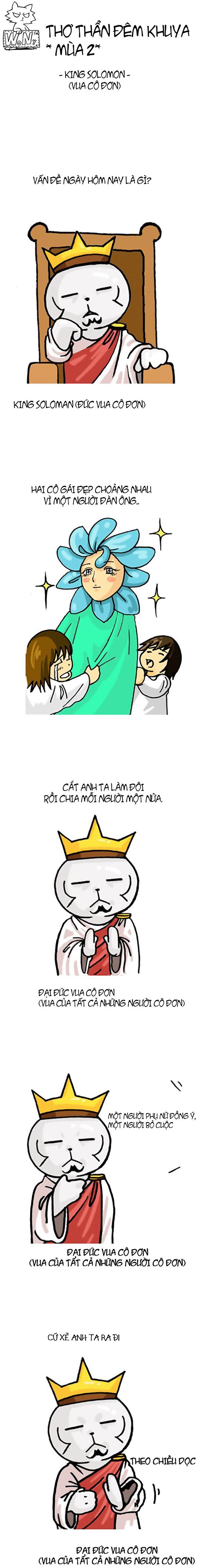 Thơ thẩn đêm khuya #43: Vua cô đơn