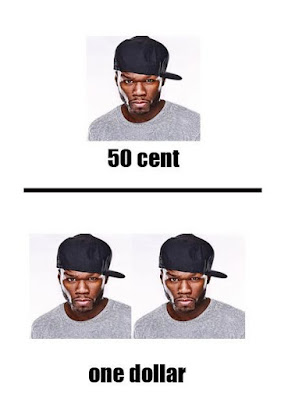 50 cent doubled