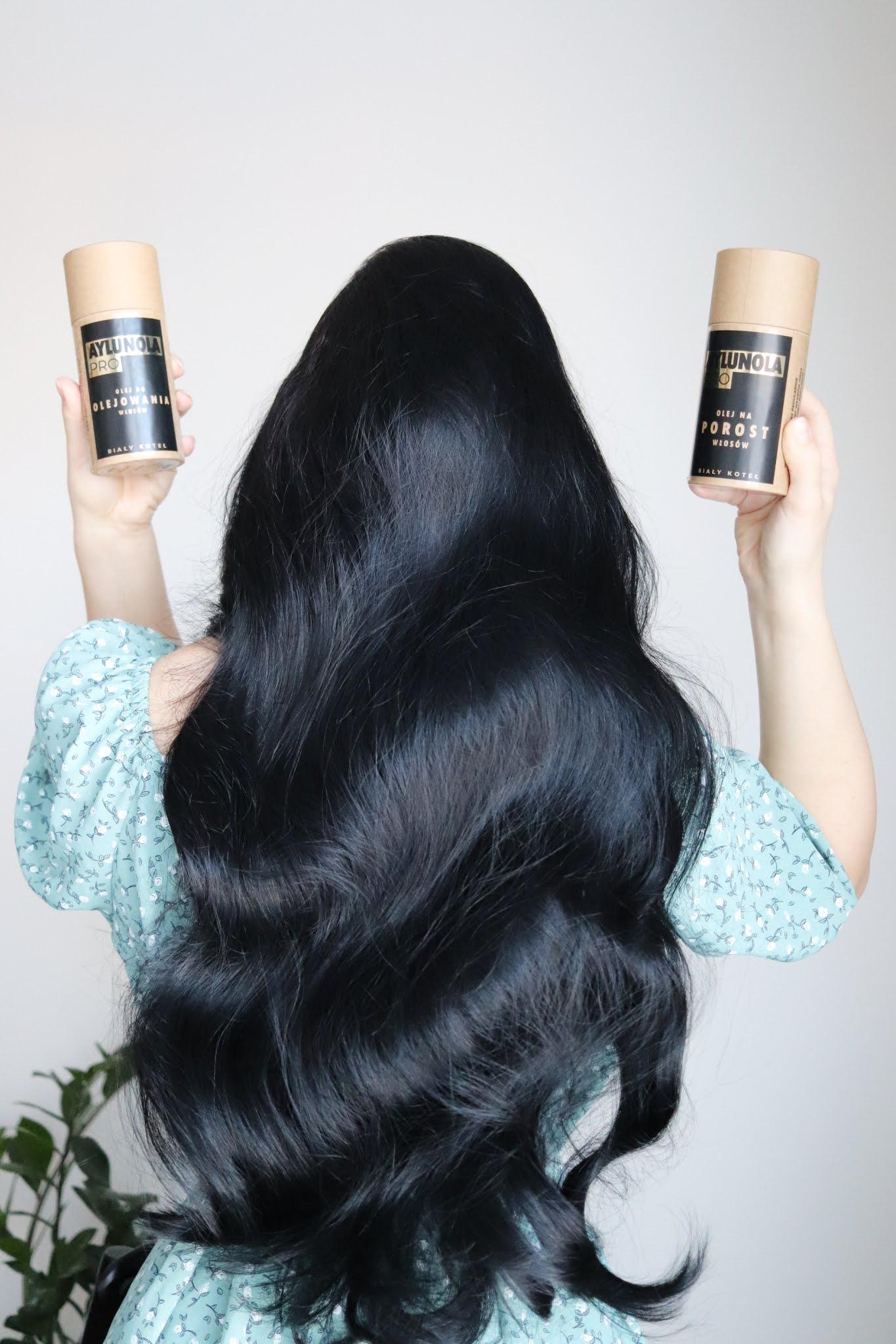 Olejki do włosów Aylunola Biały Koteł