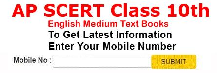 AP SCERT 10th Class Text Books English Medium