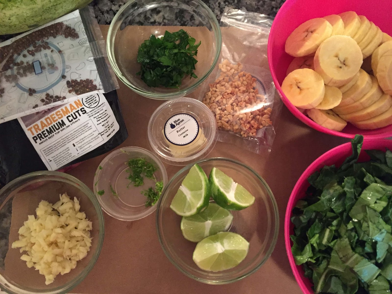 Blue apron omaha - The Card Gives You Step By Steps On What To Chop Up And How The Prep Takes A Bit Of Time But I Really Enjoyed It Because I Was Working With Things