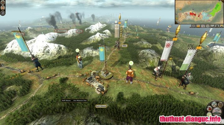 Game Total War: Shogun 2 Rise of the Samurai full free download