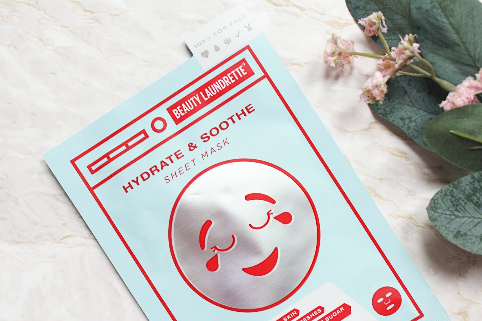 Beauty Laundrette Hydrate & Soothe Sheet Mask Review