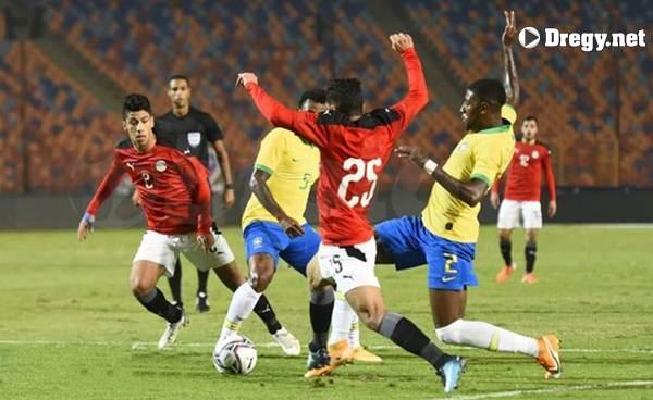 مباراة مصر و البرازيل