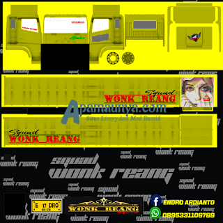 Download Livery Truck Fuso