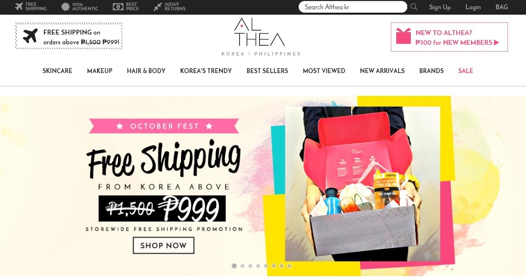 ALTHEA Korea, ALTHEA Korea Pilippines, ALTHEA Korea app, Althea Philippines coupon code, althea korea review