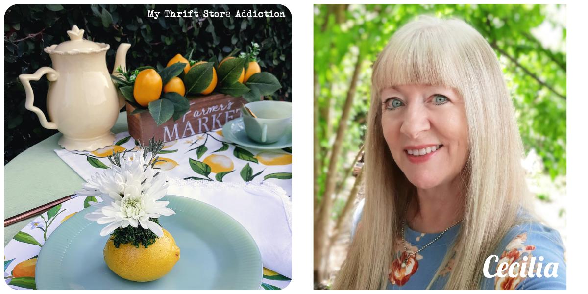 Lemons and jadeite garden tea