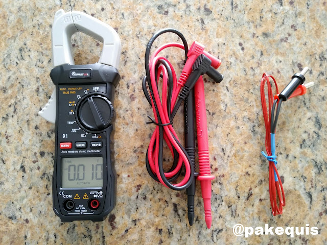 Alicate amperímetro Mustool X1