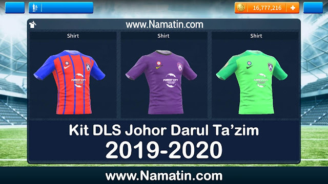 Kit Dream League Soccer Johor Darul Tazim