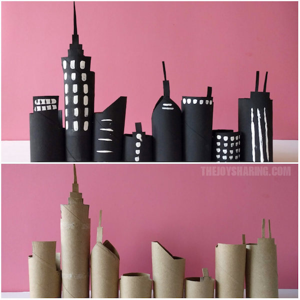 craft ideas using empty toilet paper rolls