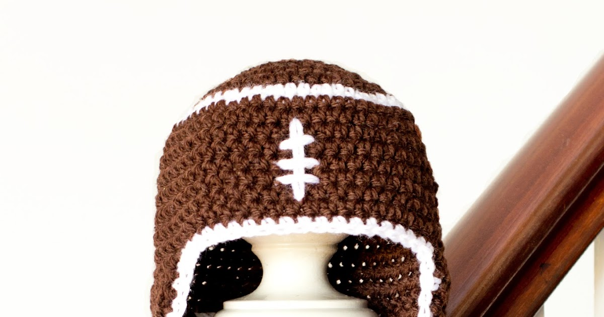 Crochet Pattern Baby Hat Free : Hopeful Honey Craft, Crochet, Create: Baby Football ...