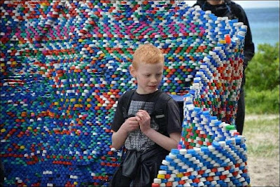 how to reuse plastic bottle caps
