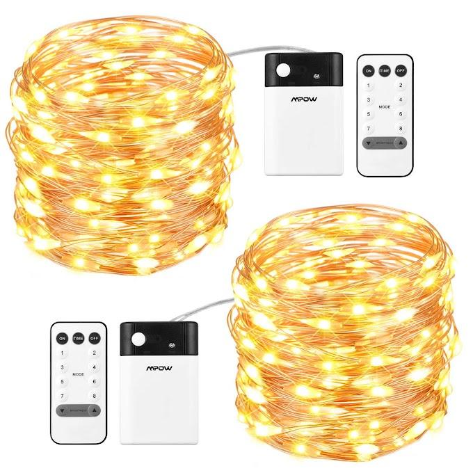 String lights (2 pack)    65% OFF