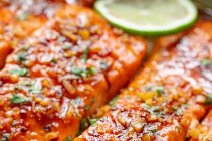 Spicy Honey Glazed Salmon Recipe