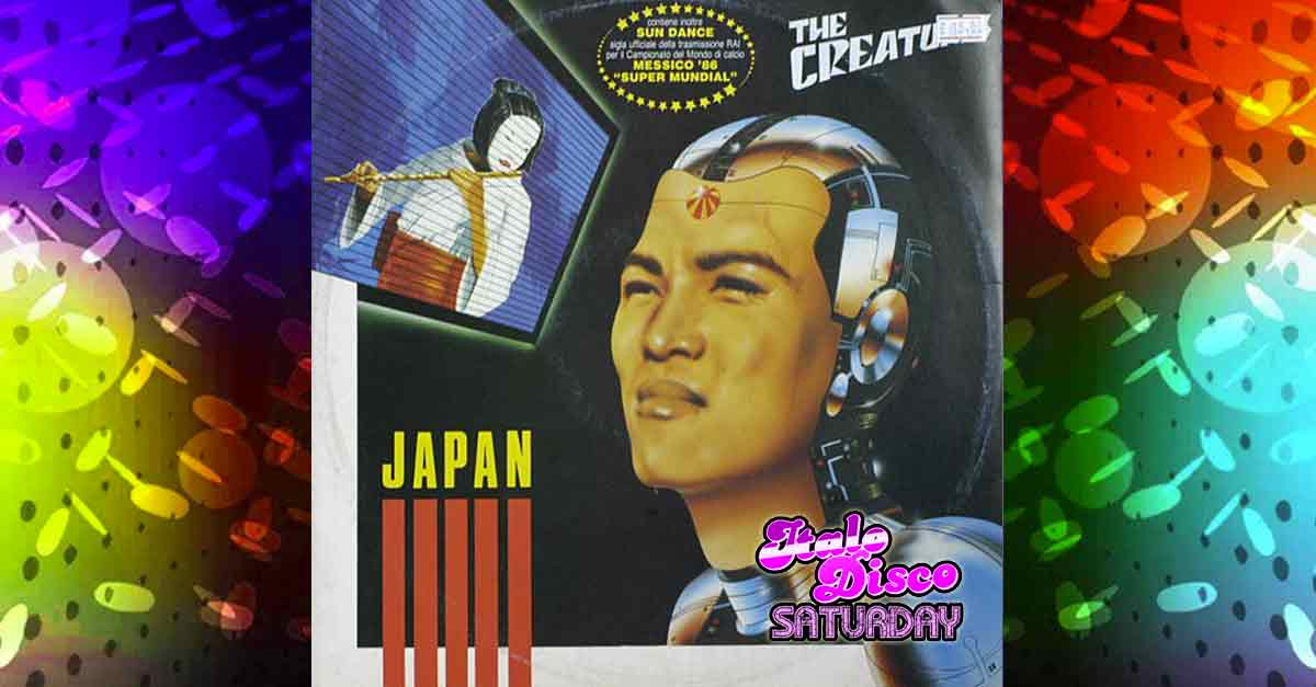 Copertina del singolo Italo Disco ''Japan'' dei The Creatures