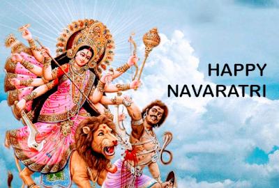 Maa Durga Puja Navratri Image Wallpaper