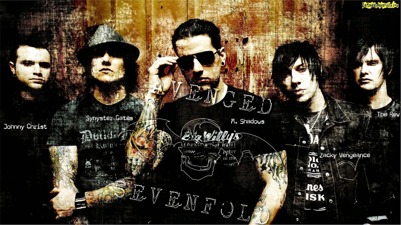 WALLPAPER ANDROID IPHONE Wallpaper Avenged Sevenfold HD Terbaru