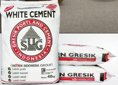 daftar harga semen putih per sak