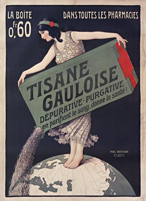Paul Berthon - Tisane Gauloise 1896