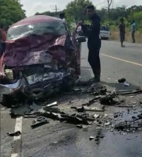 Mueren varias personas en accidente en San Francisco de Macoris