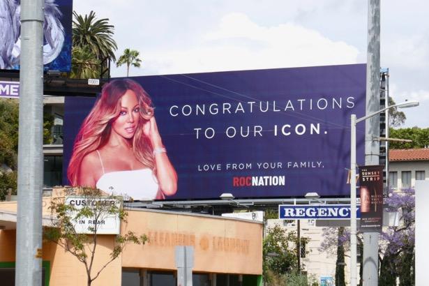 Congrats Icon Mariah Carey Roc Nation billboard
