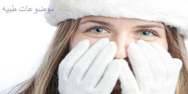 ترطيب البشرة فى الشتاء