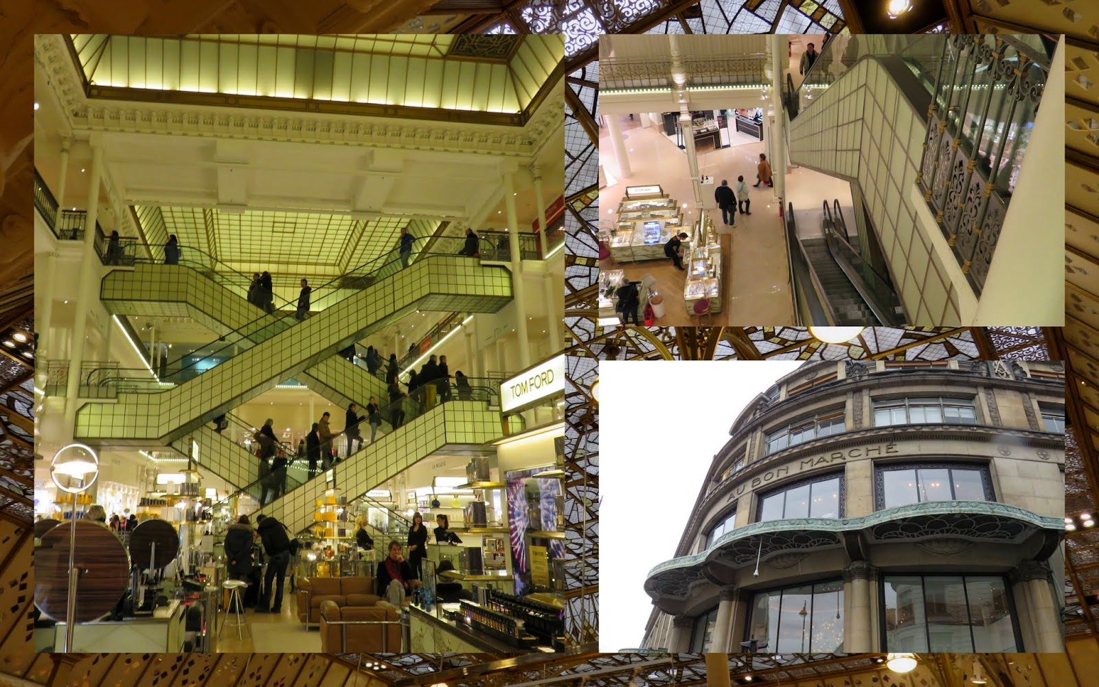 Valentine's Day Weekend in Paris - Le Bon Marche