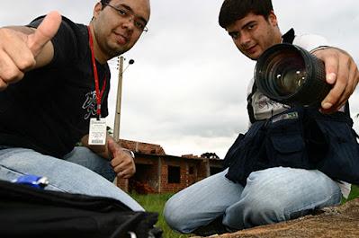 Luiz Fernando Cardoso e Ricardo Lopes – O Diário. Café com Jornalista