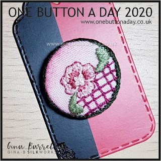 One Button a Day 2020 by Gina Barrett - Day 65: Briar