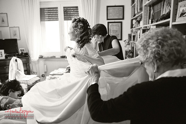 foto preparazione sposa matrimonio Genova