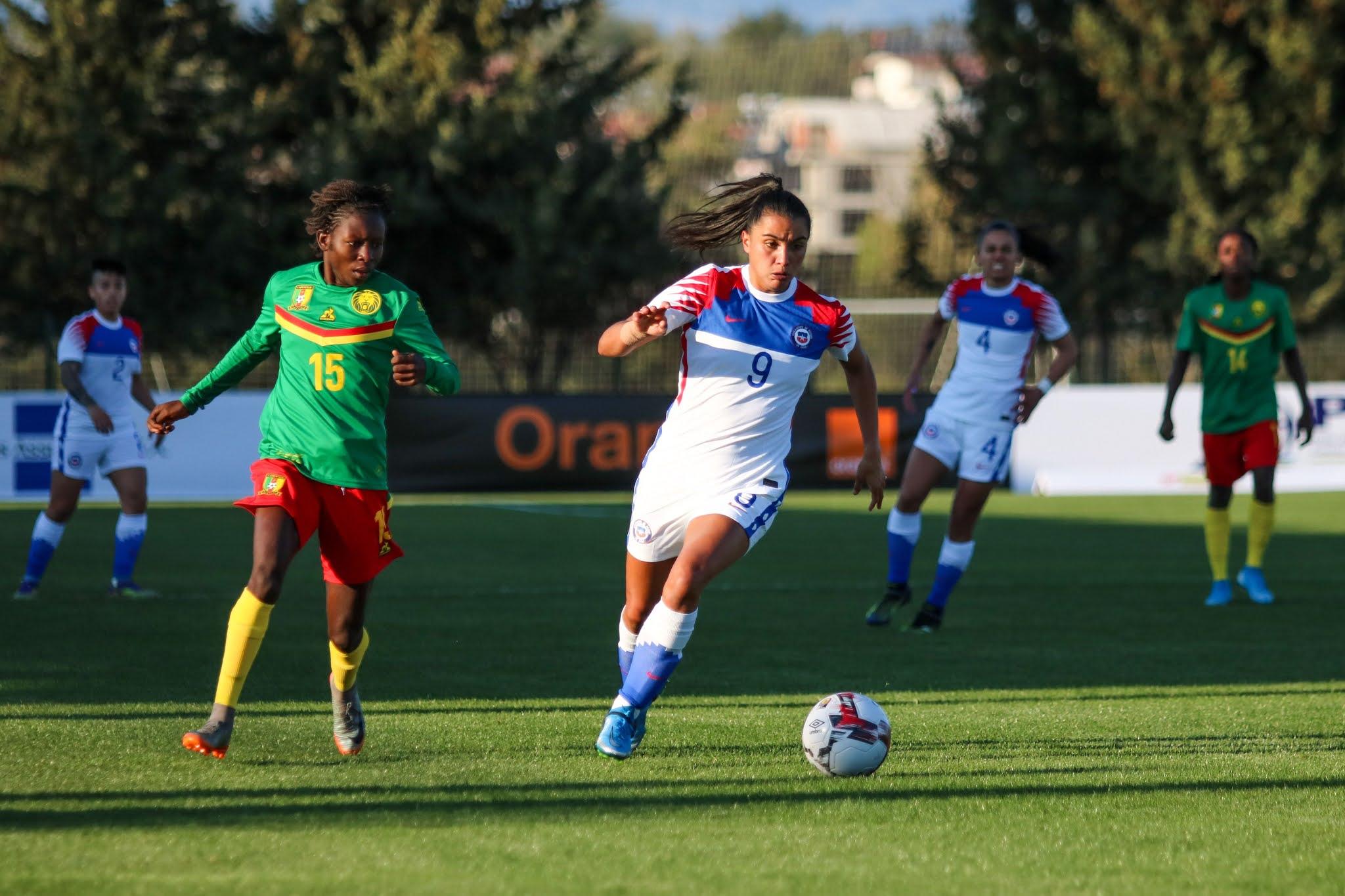 Camerún y Chile en repechaje intercontinental a Juegos Olímpicos de Tokio 2020, 10 de abril de 2021