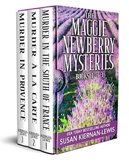 The Maggie Newberry Mysteries: pageturner cozy mysteries by Susan Kiernan-Lewis